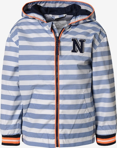 STACCATO Jacke in marine / taubenblau / lachs / weiß, Produktansicht