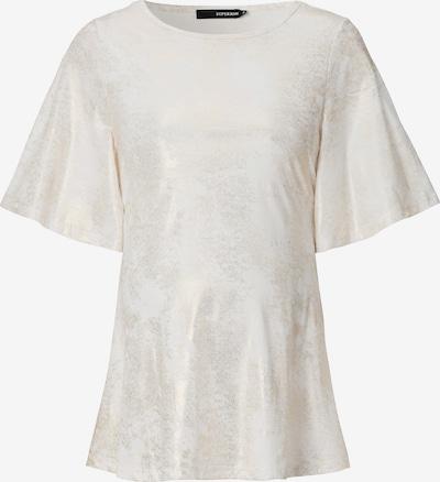Supermom T-shirt 'Fun Sleeve' in weiß: Frontalansicht