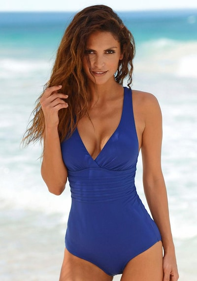 LASCANA Shaping swimsuit in Blue, Item view