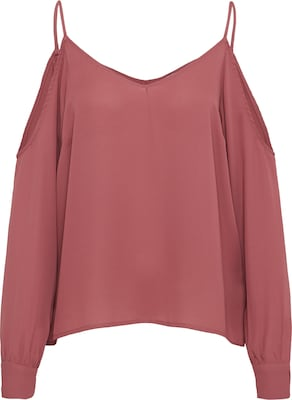 NA-KD Top 'cold shoulder knot sleeve top'