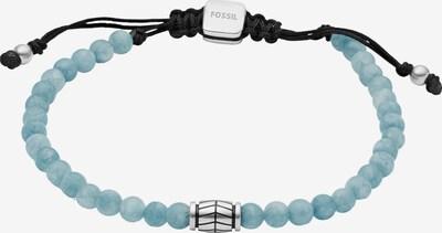 FOSSIL Herrenarmband in hellblau / schwarz, Produktansicht
