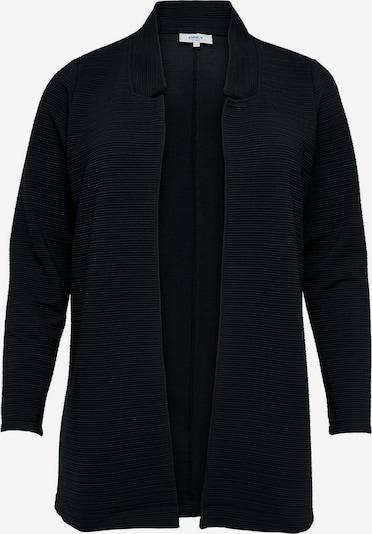 ONLY Carmakoma Gebreid vest 'SKY' in de kleur Zwart, Productweergave