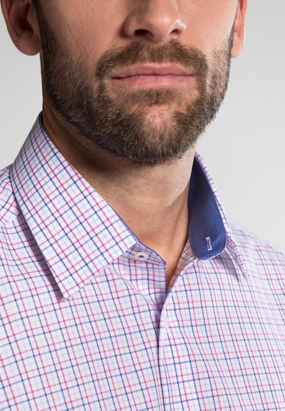 ETERNA Hemd in blau blau blau   rot   weiß  Große Preissenkung 1d99b6