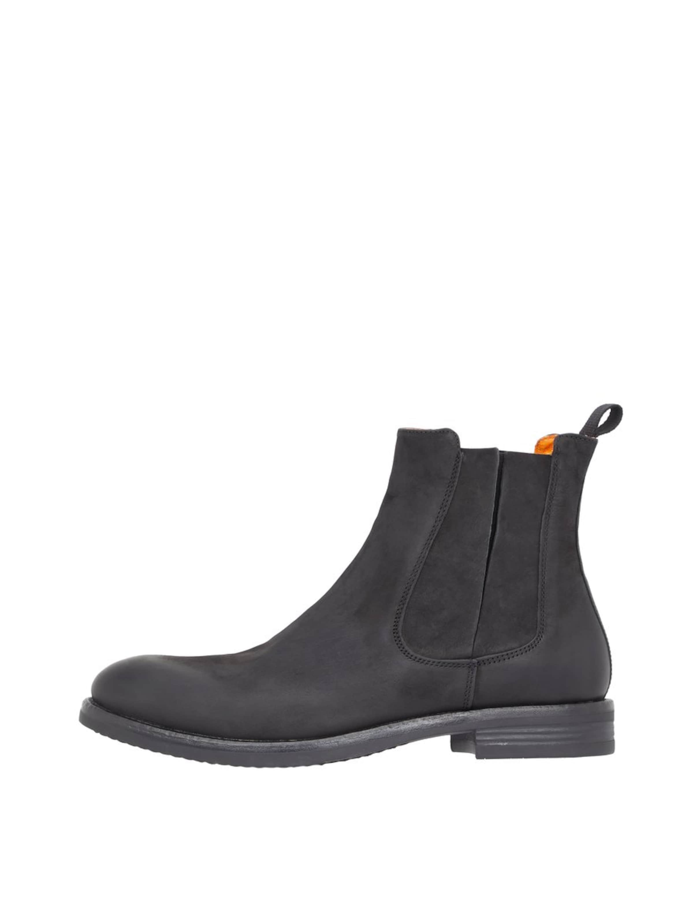 Noir Bianco En Chiné Chelsea 'ace' Boots WE9YHD2Ie
