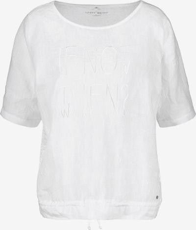 GERRY WEBER T-Shirt 1/2 Arm in weiß, Produktansicht