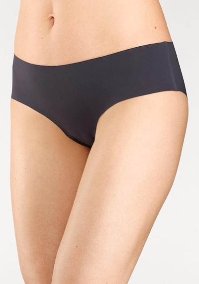 SCHIESSER Lasercut Panty 'Invisible Light' in graphit: Frontalansicht