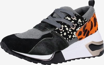STEVE MADDEN Sneaker in orange / schwarz, Produktansicht