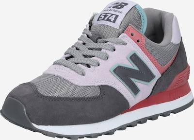 new balance Sneaker in türkis / basaltgrau / helllila / koralle, Produktansicht