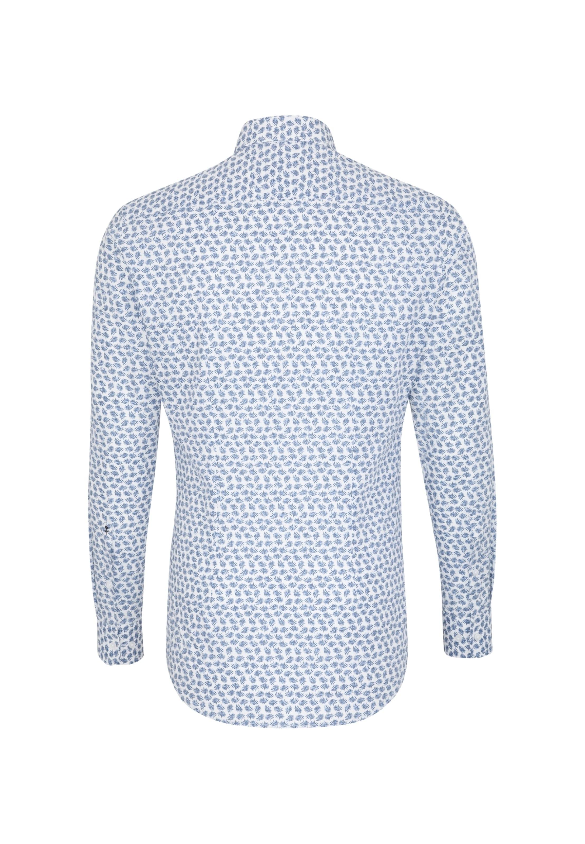Seidensticker In Hemd BlauWeiß Seidensticker In BlauWeiß Hemd UVpSzM