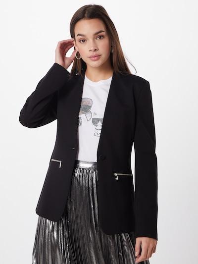 Karl Lagerfeld Blazers 'punto' in de kleur Zwart: Vooraanzicht
