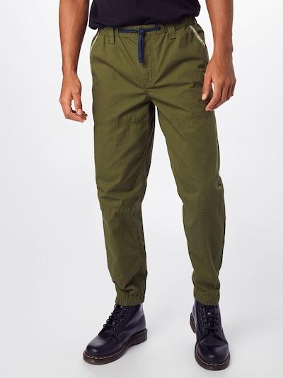 Tommy Jeans Hose 'PIECED' in oliv, Modelansicht