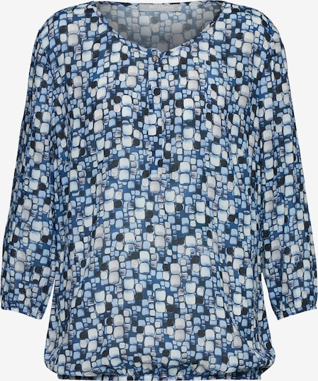 Betty & Co Blouse in de kleur Donkerblauw / Wit, Productweergave