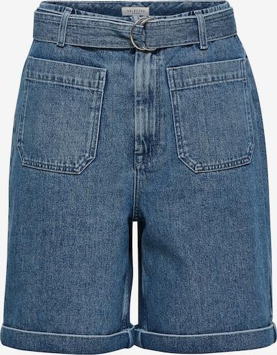 SELECTED FEMME Extra High Waist Jeansshorts in blau, Produktansicht