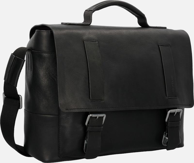 STRELLSON Turnham Aktentasche Leder 40cm Laptopfach
