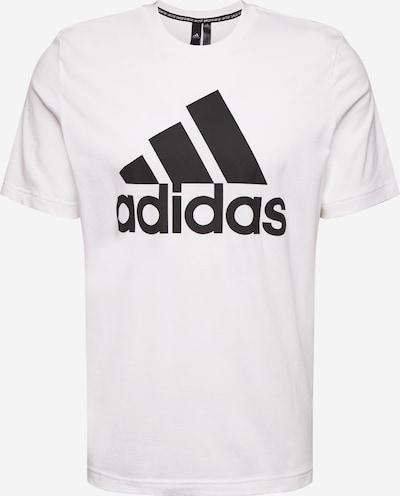 ADIDAS PERFORMANCE T-Shirt 'MH Bos' in schwarz / weiß, Produktansicht