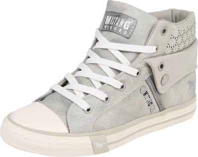 MUSTANG Hohe Sneaker mit Strass