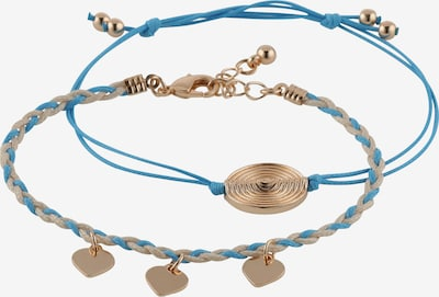 ABOUT YOU Armband 'Leonie' in de kleur Blauw / Goud, Productweergave