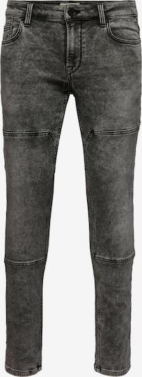 Only & Sons Jeans in de kleur Grijs, Productweergave