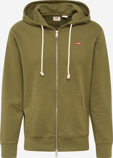 LEVI'S Sweatshirt in de kleur Olijfgroen, Productweergave
