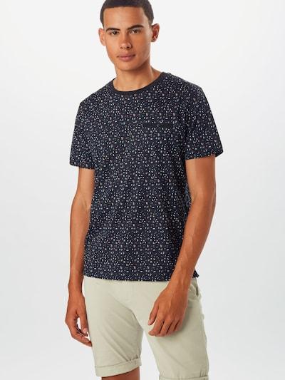 JACK & JONES T-Shirt en noir, Vue avec modèle