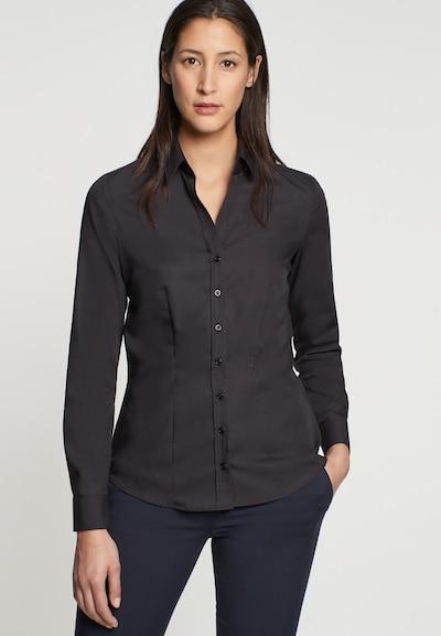 SEIDENSTICKER Blouse 'Schwarze Rose' in de kleur Zwart, Modelweergave