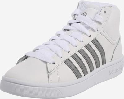 Sneaker înalt 'Court Winston' K-SWISS pe gri / alb, Vizualizare produs