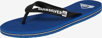 QUIKSILVER Teenslippers 'MOLOKAI' in de kleur Blauw / Zwart, Productweergave