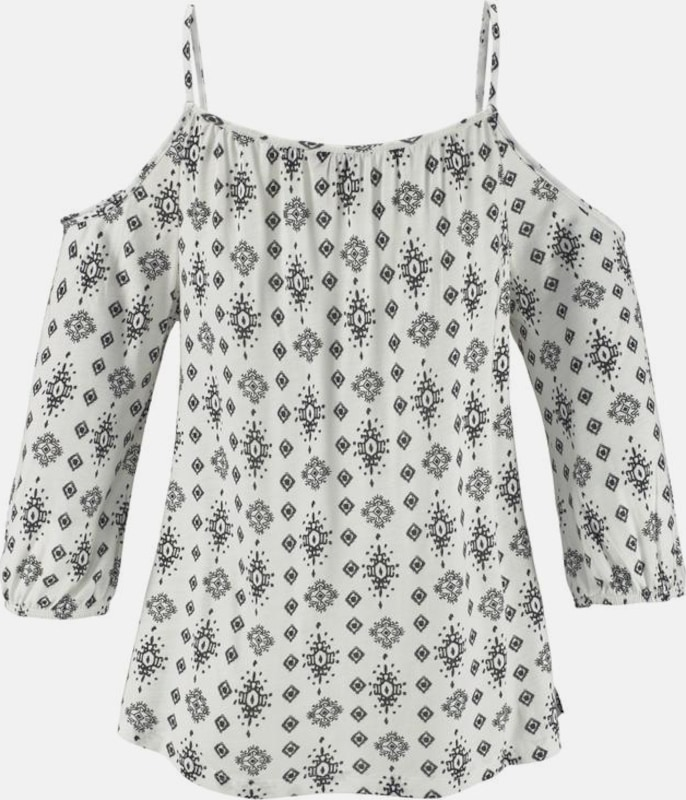 LASCANA Strandshirt in schulterfreier Form