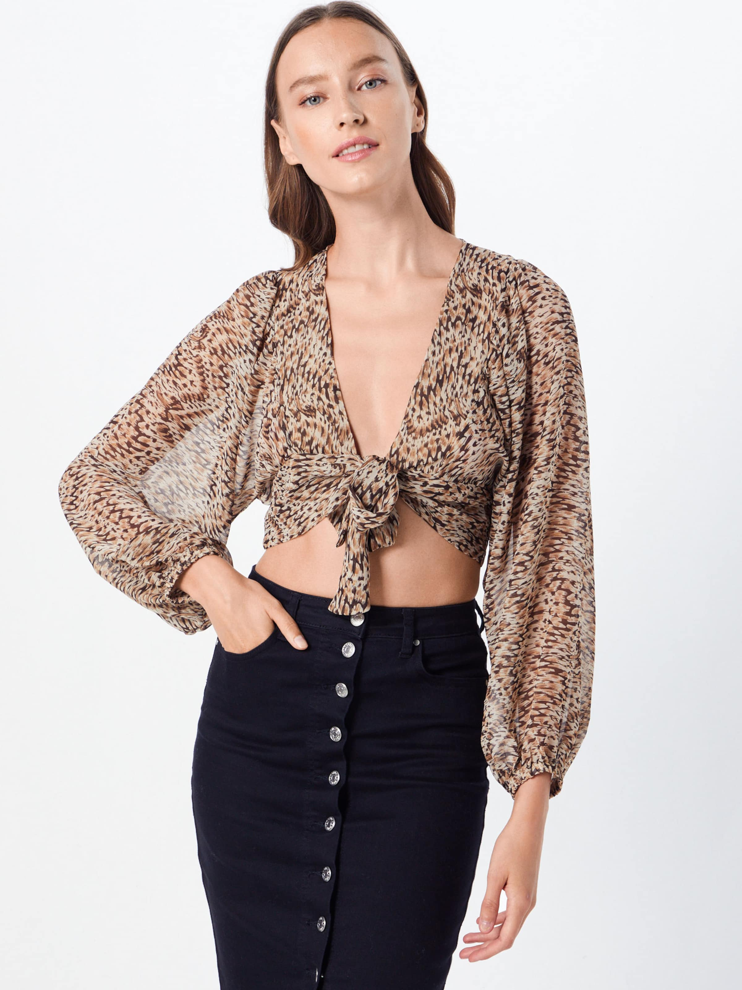 Bardot Bluse 'abstract' Bluse 'abstract' In Beige 'abstract' Beige Bluse In Bardot Bardot tsxdhrCQB
