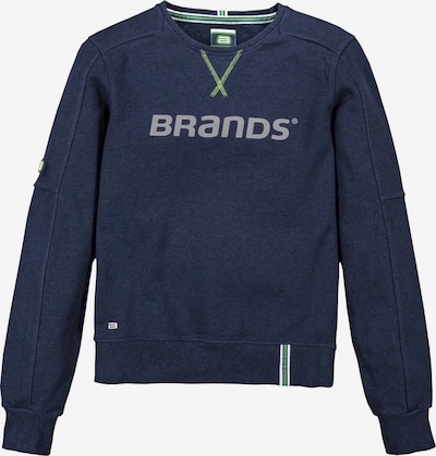 BRANDS WORKWEAR Sweatshirt in blau / navy, Produktansicht