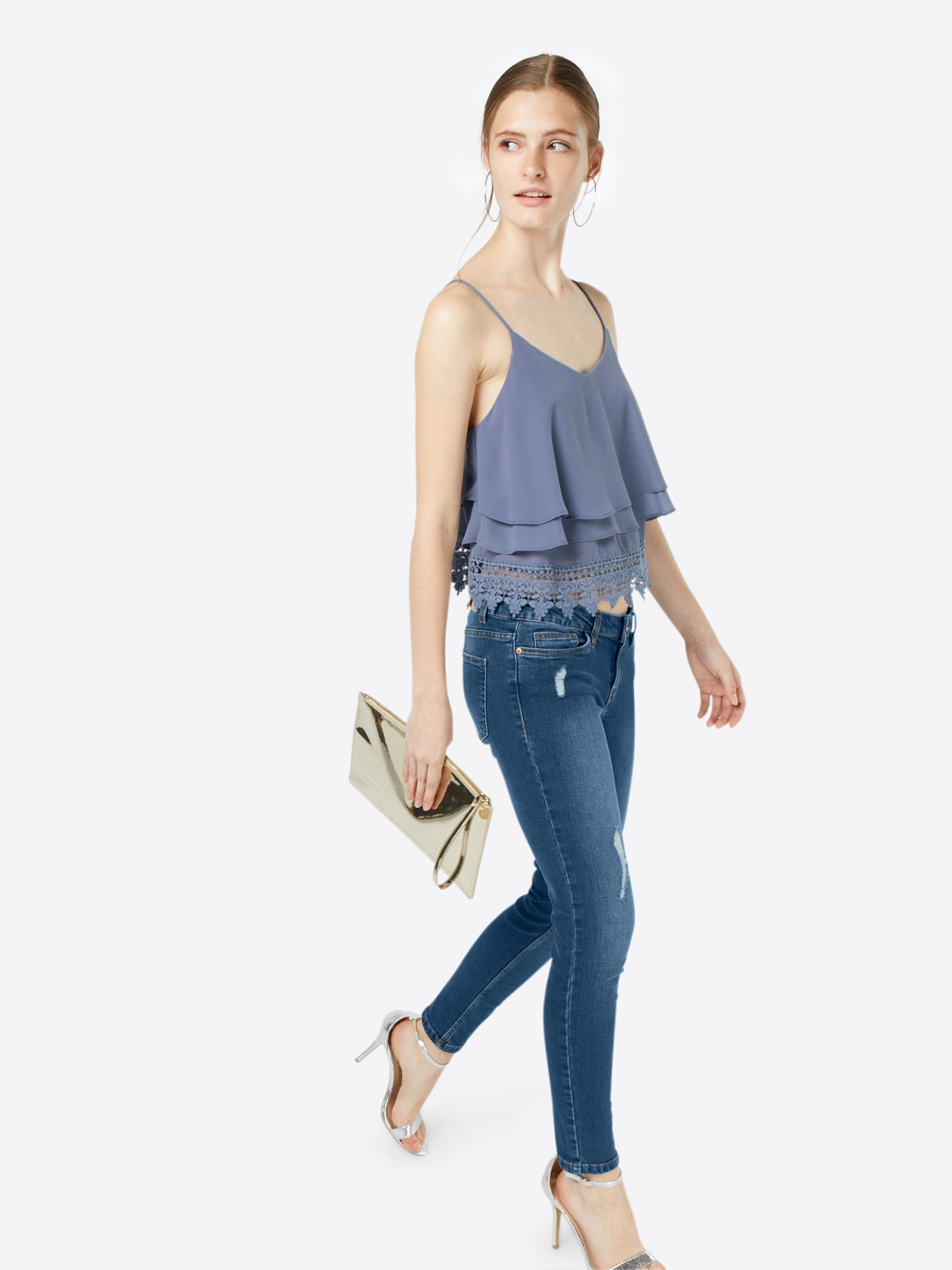 In Jeans 'eve' Noisy Blue Destroyed May Denim Nm80nw