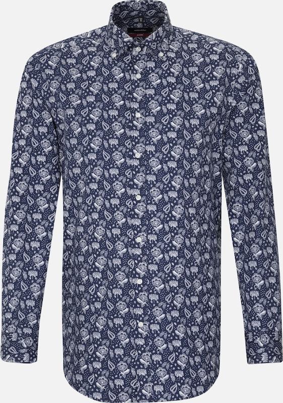 SEIDENSTICKER Hemd 'Modern' in navy   weiß  Mode neue Kleidung