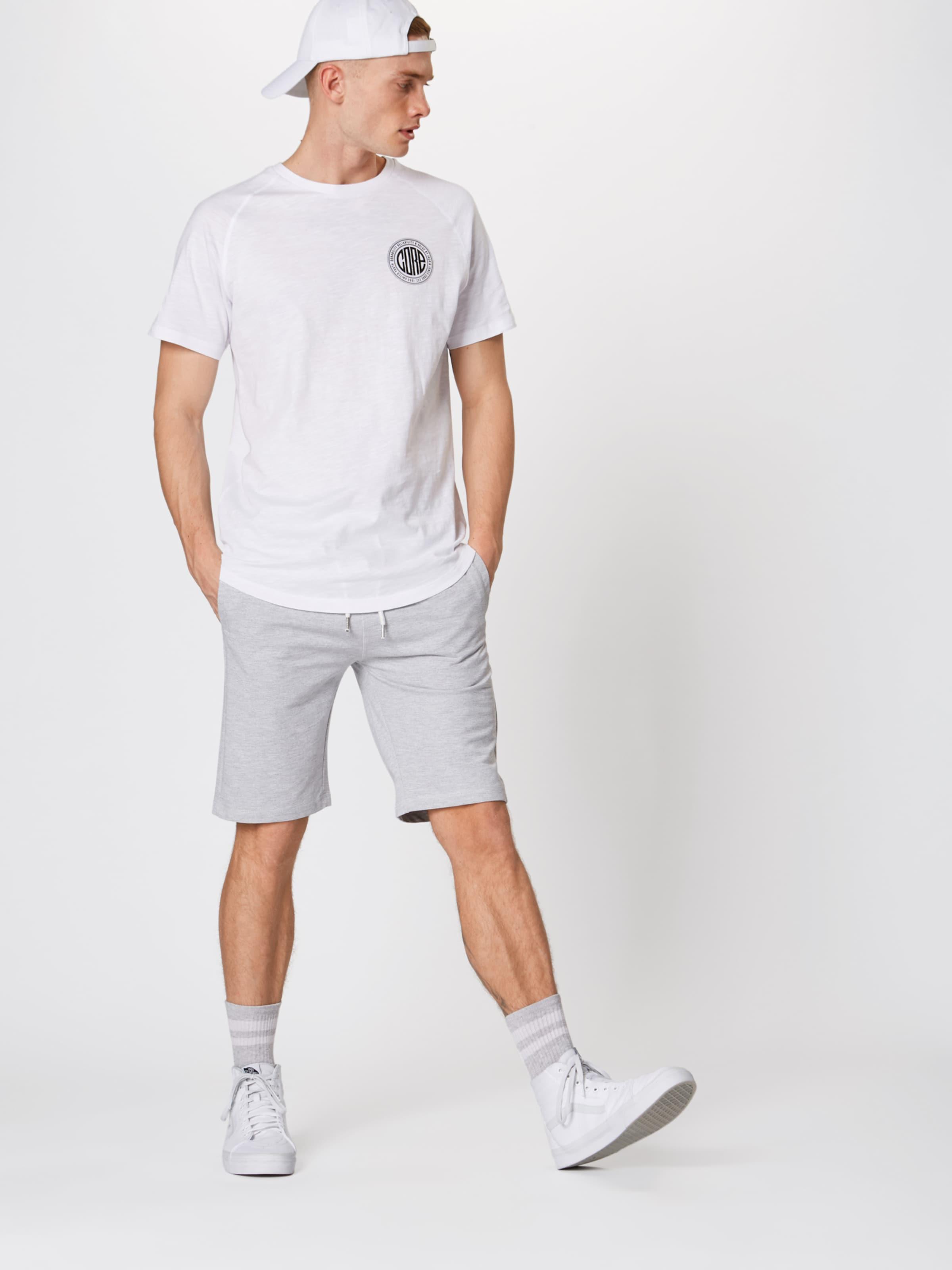 morgan' In Shorts solid 'regular Hellgrau 5RA4jL