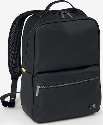 Roncato Rucksack 'Brooklin' in gelbmeliert / schwarz, Produktansicht