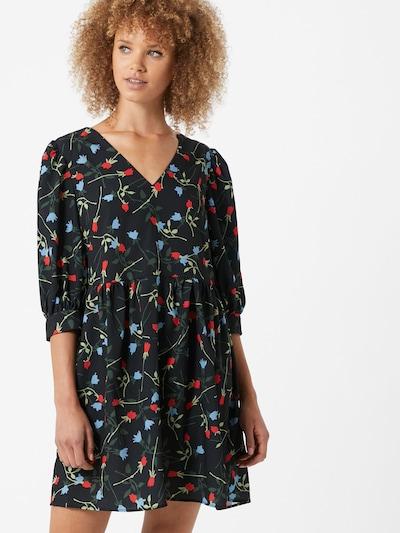 Trendyol Letnia sukienka w kolorze ciemny niebieski / mieszane kolorym, Podgląd na modelu(-ce)