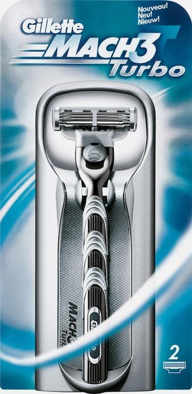 Gillette 'Mach3 Turbo', Rasierer + 2 Klingen, 3-tlg.