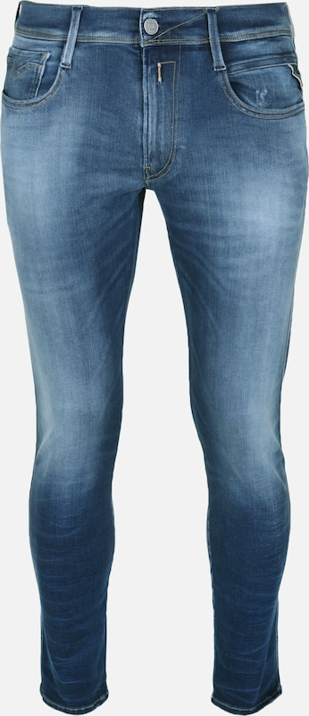 REPLAY Jeans 'ANBASS' in blau  Markenkleidung für Männer und Frauen
