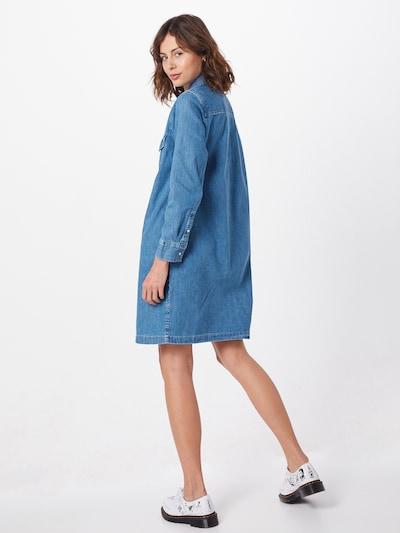 LEVI'S Kleid 'SELMA DRESS' in blue denim: Rückansicht