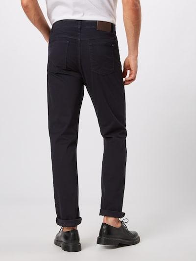 Pantaloni BRAX pe albastru noapte: Privire spate