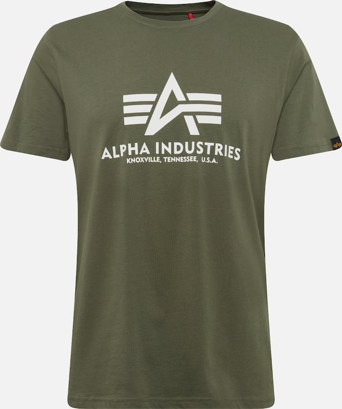 Industries Olijfgroen In In Alpha Alpha Shirt Industries Olijfgroen Shirt qpzGUSMV
