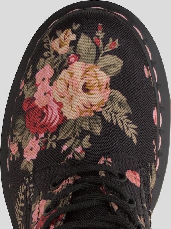 Dr. Martens Schnürer aus Textil mit Print 1460  1460 Print 8 Eye Victorian Flowers 9ac2cc