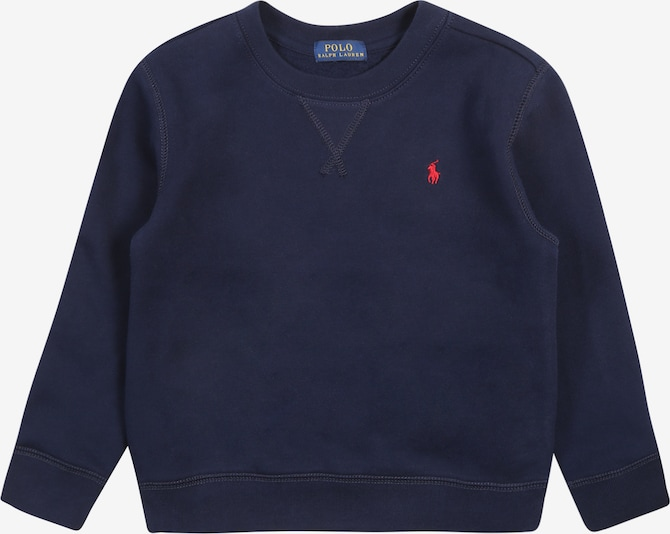 POLO RALPH LAUREN Sweatshirt 'SEASONAL FLEECE-LS CN-TP-KNT' in navy, Produktansicht