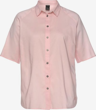 JACK WOLFSKIN Hemdbluse »NATA RIVER« in rosa, Produktansicht