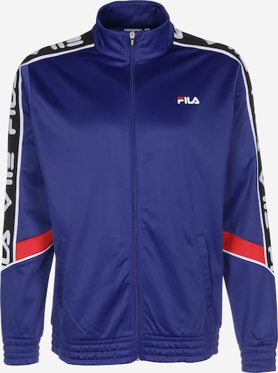 FILA Trainingsjacke ' Ted ' in lila / rot / weiß, Produktansicht