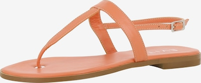 EVITA Sandale 'OLIMPIA' in orange: Frontalansicht