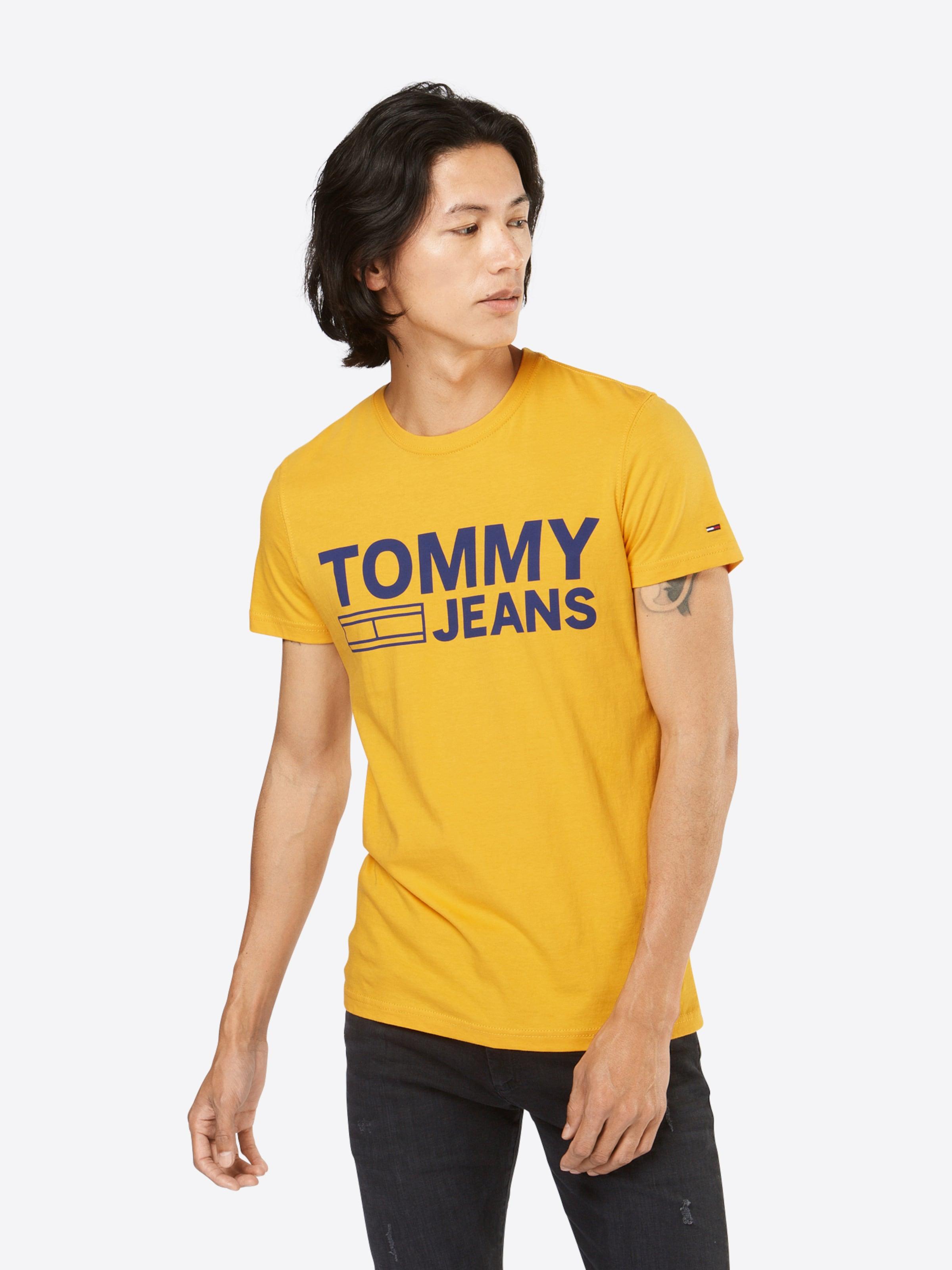Rabatt 100% Garantiert Frei Verschiffen Tommy Jeans Logo-Shirt mit Print Spielraum Zuverlässig 7DM4EB6n