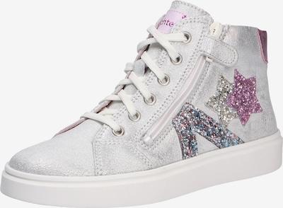 RICHTER Sneaker in lila / silber / platin, Produktansicht