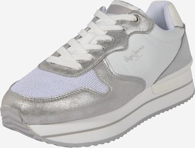 Sneaker low 'RUSPER ROSE' Pepe Jeans pe argintiu / alb, Vizualizare produs