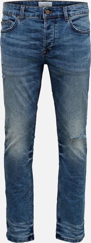 Only & Sons Jeans in Blau denim  Markenkleidung für Männer und Frauen