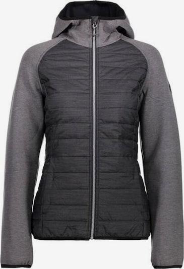 CMP Jacke in basaltgrau / graumeliert, Produktansicht